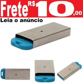Leitor Usb Cartão Micro Sd Classe 10 Ou 04 Adaptador Metal