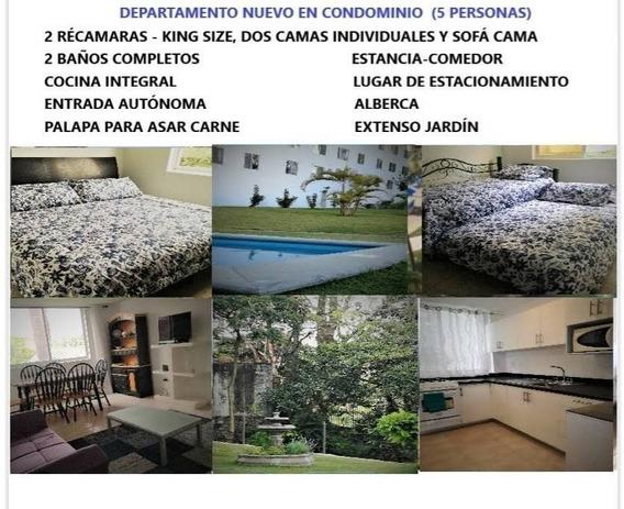 Departamento En Renta Avenida Jesús H. Preciado, San Anton