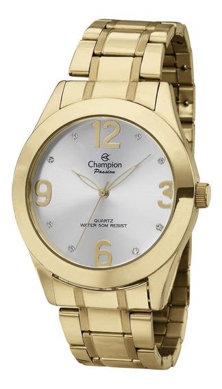Relógio Feminino Champion Dourado Ch24268h