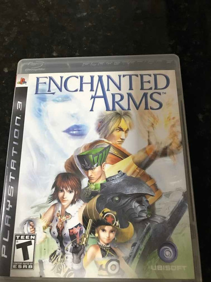 Jogo Ps3 Enchanted Arms Original Mídia Física
