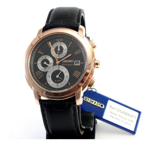 Relógio Seiko Coutura 7t62-0hp0 - Novo - Único No M. L.