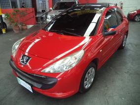207 Hatch 1.4 Xr Flex 2011 /2011 Vermelha Completo Confira!