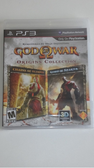 God Of War Origins Collection - Ps3 Novo E Lacrado