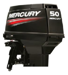 Imagen 1 de 1 de Motor Mercury 50 Hp Comandos Power Trim Mezcladora Pata Larg