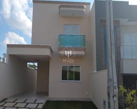 Casa Nova Assobradada À Venda No Condomínio Reserva Da Mata, Localizada No Bairro Jardim Celeste, Jundiaí ? Sp. - Cc00649 - 33961020
