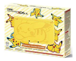 New Nintendo 3ds Xl Edicion Limitada Pikachu Yellow