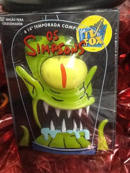 Dvd Os Simpsons 14 Temporada Ed. Cara