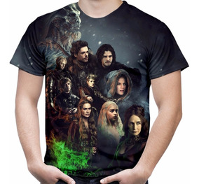 Camiseta Série Game Of Thrones Camisa Masculina Hd Md02