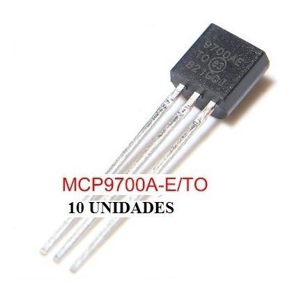 Lote 10 Peças Mcp9700 E/to Mcp9700a To-92 Sensor Temperatura