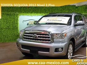 Toyota Sequoia Plinum Blindada 2012