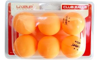 Bola De Tênis De Mesa Ping Pong - 2 Estrelas - Kit 6un