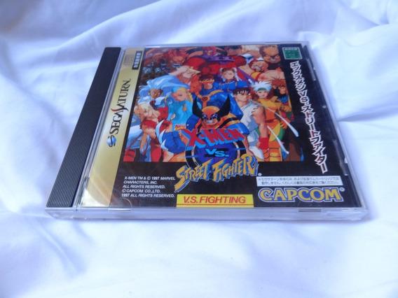 Jogo X-men Street Fighter Sega Original Japonês