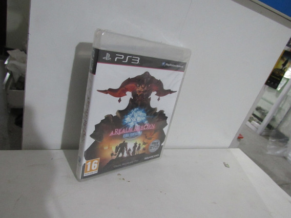 Final Fantasy Xiv A Realm Reborn Ps3 Novo Lacrado + Brinde