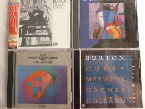 Gary Burton Good Vibes Atlantic Usa Nuevo Oferta!