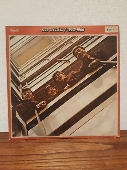 The Beatles 1962-1966 Lp Vinilo Doble Con Insert Nacional