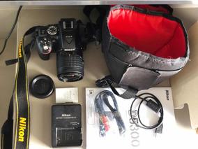 Câmera Digital Nikon D5300 Dslr 24,2 Mp Foto 4k Video Fullhd