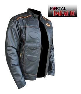 Jaqueta Masculina Couro Legítimo Harley Davidson