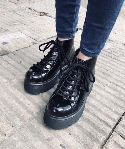 Zapatillas Zapatos Borcegos Borceguies Charol Cletas Shoes