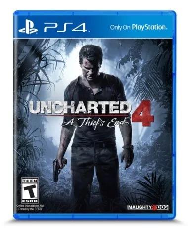 Jogo Uncharted 4 - Playstation 4 Ps4 - Original
