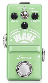 Nano Pedal Donner Delay Wave Analógico Assista Ao Review