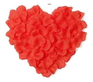 1000 Pétalas De Rosas Artificiais Na Cor Vermelha