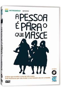 A Pessoa É Para O Que Nasce Dvd Original