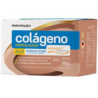 Colágeno Hidrolisado 2em1 Verisol® Sachês 30x10g Maxinutri