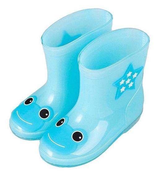 Botas Bebe Impermeables Resiste Lluvia Agua Calzado Zapatos