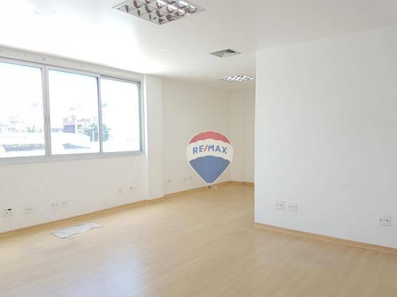 Sala Para Alugar, 77 M² Por R$ 2.100,00/mês - Recreio Dos Bandeirantes - Rio De Janeiro/rj - Sa0041