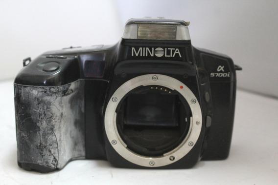Câmera Fotografica Minolta Alpha 5700i Coleção Retirada Peça
