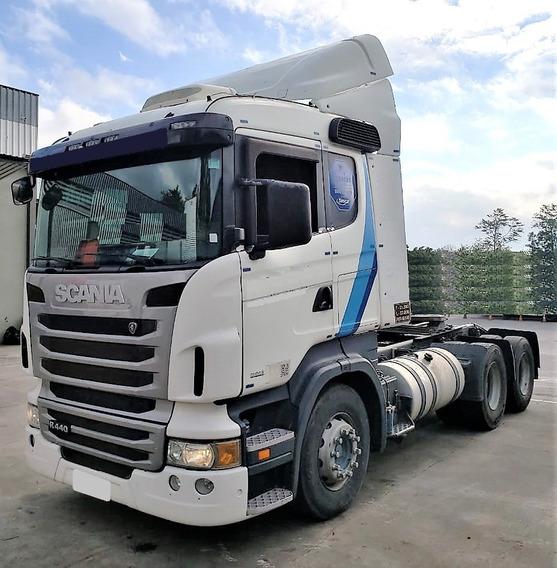 Scania R 440 6x2 2013 Motor Novo