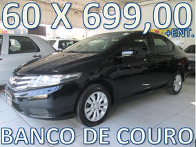 Honda City Lx Aut. Flex Unico Dono Entrada+60 X 699,00 Fixas