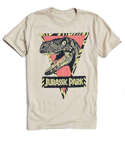 Envio Gratis Playera Camiseta Jurassic Park Velociraptor