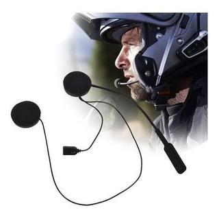 Auricular Inalambrico Bluetooth Con Microfono Para Cascos,