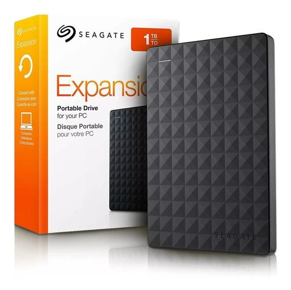 Hd Externo Seagate 1tb Expansion Usb 3.0 Pc Ps4 Xbox Novo