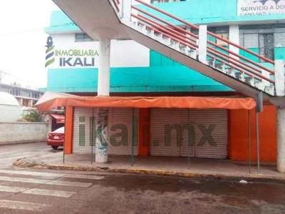 Renta Local Comercial En Esquina 60 M² Col. Centro Tuxpan Veracruz, Se Encuentra Ubicado En La Calle Vicente Guerrero A Un Costado Del Puente Tuxpan, Cuenta Con 60 M² Son 12 M. De Frente Por 5 M. De