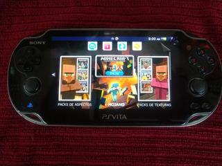 Ps Vita Hakeada Con Juegos Instalados