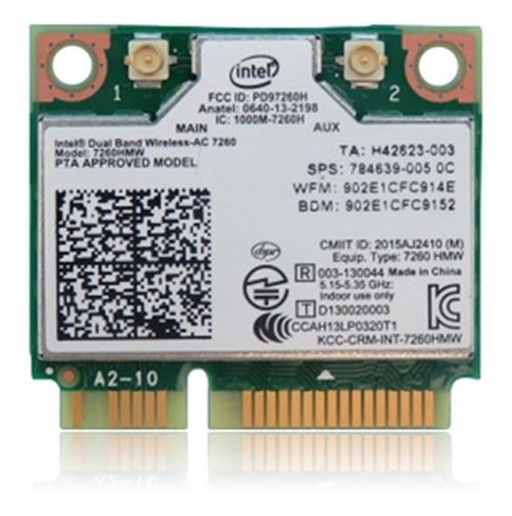 Mini Pci Wireless Dual Band Intel 7260 Ac-7260 Hmw