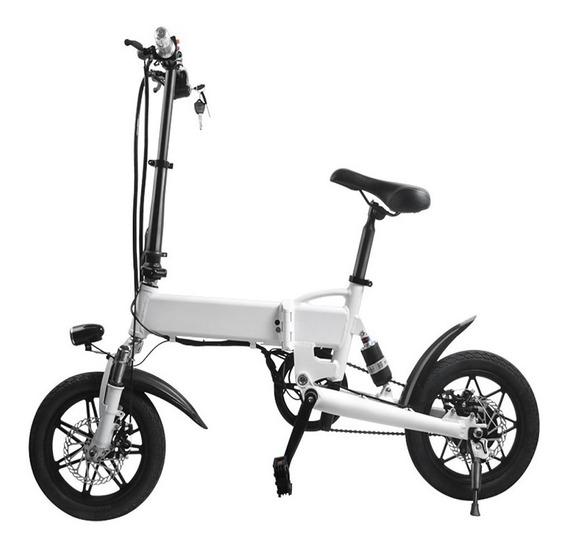 Bicicleta Eléctrica Plegable Automática Mod.081 + Kit Gratis