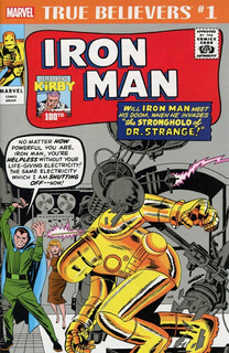 True Believers Jack Kirby 100th Anniversary: Iron Man (2017)