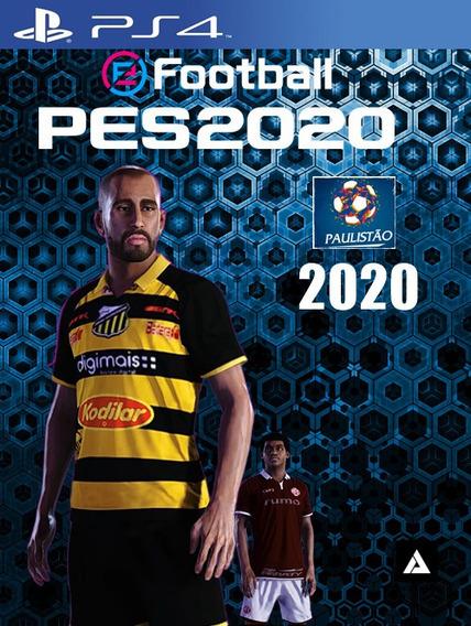 Patch Paulistão 2020 Pes 2020   Ps4 Option File