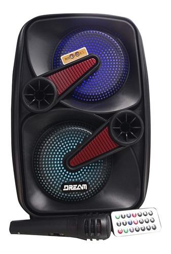 Parlante Cabina 8 Pulgadas Recargable Micrófono 800w P.m.p.o