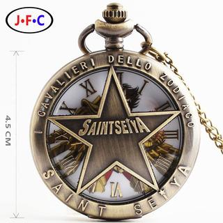 Reloj Collar Coleccionable Caballeros Del Zodiaco Saint Seiy