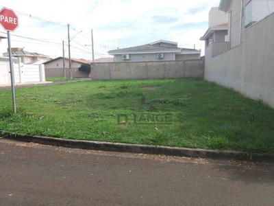 Terreno À Venda, 250 M² Por R$ 280.000 - Residencial Terras Do Barão - Campinas/sp - Te4215