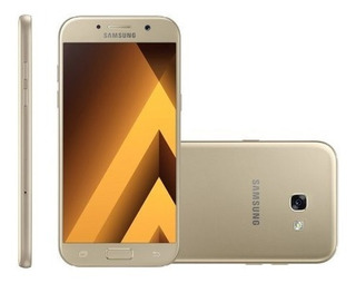 Celular Dual Samsung Galaxy A5 2017 64gb Dourado