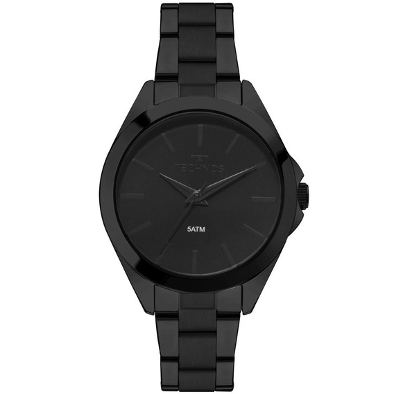 Relógio Technos Feminino Preto 2035mll4p
