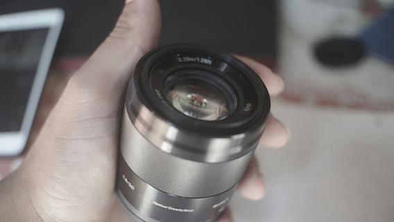 Lente Sony E 50mm F1.8 OssApsc