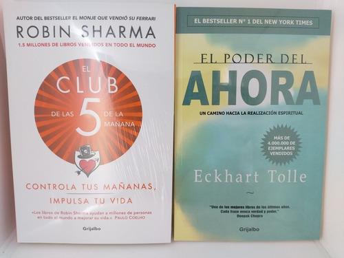 Imagen 1 de 2 de El Poder Del Ahora + El Club De Las 5 De La Mañana