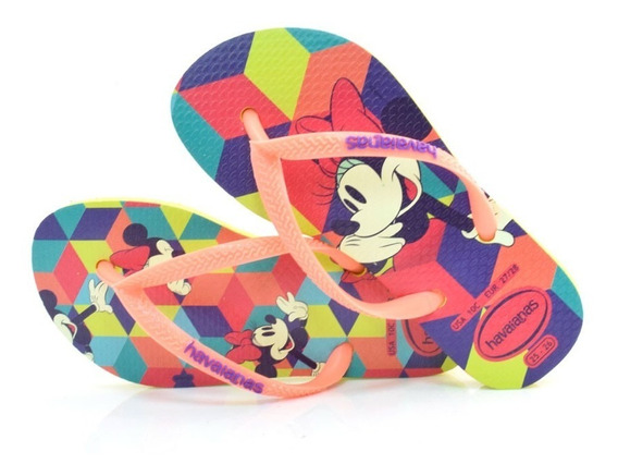 Chinelo Havaianas Kids Disney Cool - K D Cool 18/19