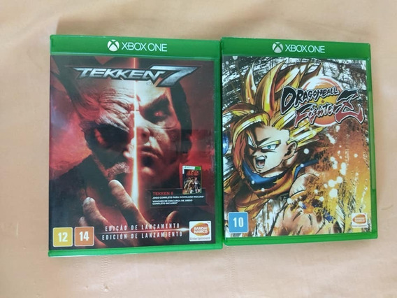Dragon Ball Fighterz + Tekken 7 Para Xbox One, Originais
